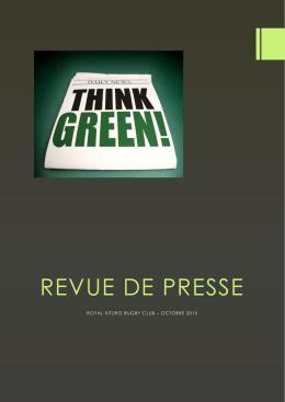 revue de presse - Le Royal Kituro