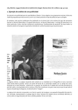 2. Ejemplo de análisis de una publicidad