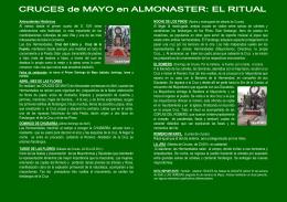 fiestas de la santa cruz de mayo. - Ayuntamiento de Almonaster la