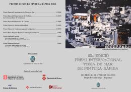 diptico cara - Ajuntament de Tossa de Mar