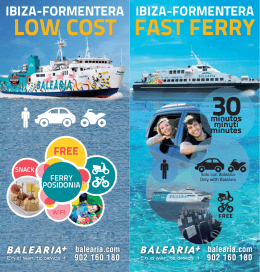 FAST FERRY LOW COST