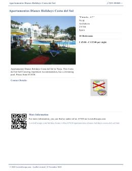 Apartamentos Dianes Holidays Costa del Sol