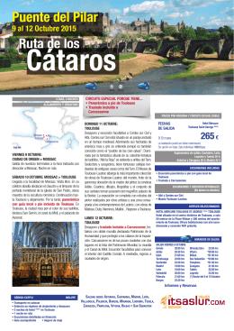 Ruta de los Puente del Pilar