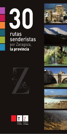 rutas senderistas - patronato de turismo de la diputación de zaragoza