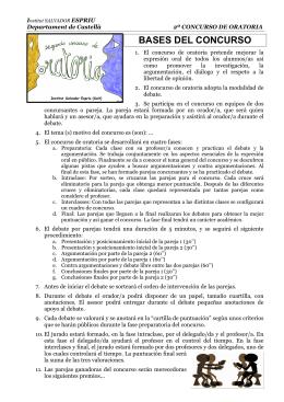 BASES DEL CONCURSO - INS Salvador Espriu