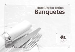 Banquetes - Hotel Jardín Tecina