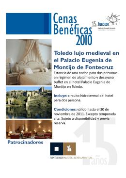 Toledo lujo medieval en el Palacio Eugenia de Montijo