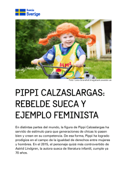 pippi calzaslargas: rebelde sueca y ejemplo feminista