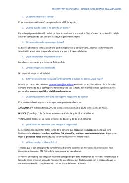 PREGUNTAS Y RESPUESTAS – SORTEO 1.000 ABONOS REAL