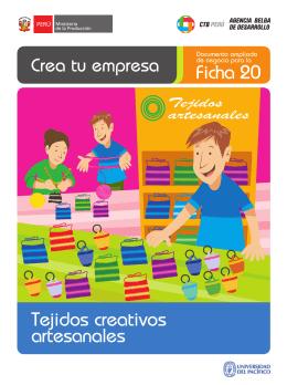 Ficha 20 Tejidos creativos artesanales