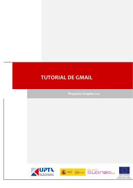 TUTORIAL DE GMAIL - Proyecto Empleo 2.0