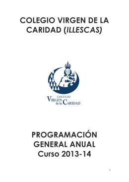 COLEGIO VIRGEN DE LA CARIDAD (ILLESCAS) PROGRAMACIÓN