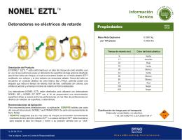 NONEL® EZTL™ - Maya Quimicos