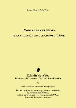 Coplas de columpio - Universidad de Alcalá