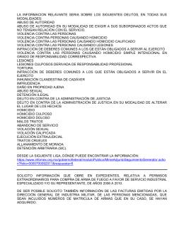 agosto - Secretaría de la Defensa Nacional