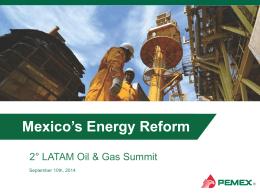 Cadena de valor de Pemex Gas y sus principales