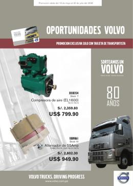 OPORTUNIDADES VOLVO - Centro Diesel del Perú S.A.
