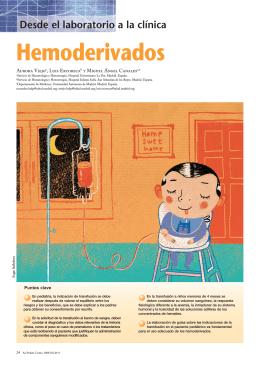 Hemoderivados y transfusiones