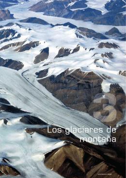 Los glaciares de montaña