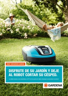 Robot cortacésped Gardena
