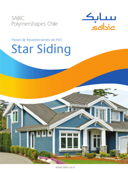 Star Siding - Sabic Chile