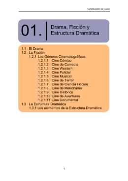 Drama, Ficción y Estructura Dramática