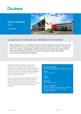 Banco Atlántida S. A.