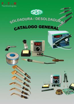 CATALOGO GENERAL SOLDADURA/DESOLDADURA