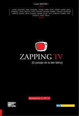 Zapping TV – El paisaje de la tele latina - Friedrich-Ebert