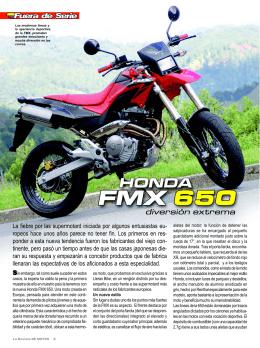 FMX 650 / Edición 59 - La Revista De Motos