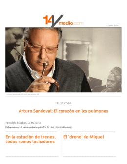 Arturo Sandoval: El corazón en los pulmones En la