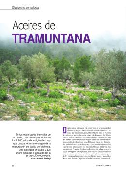 tramuntana - Olearum. Cultura y patrimonio del aceite