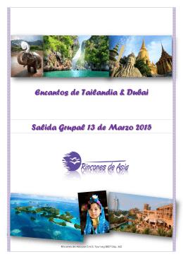 Encantos de Tailandia & Dubai Salida Grupal 13