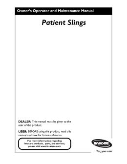 Patient Slings