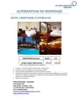 lista de hoteles