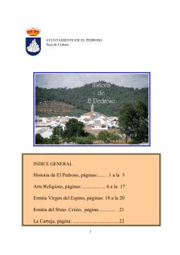 Historia de el Pedroso