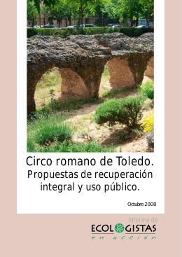 Circo romano de Toledo.
