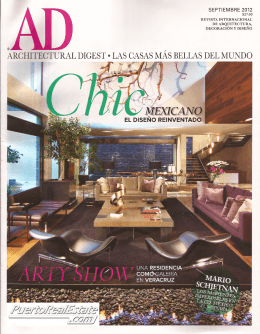 Architectural Digest Mexico PDF