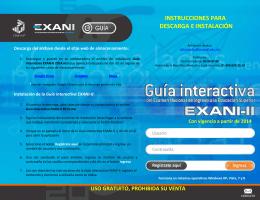 Guía interactiva, descargable con ejercicios de práctica