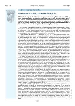 Orden de 15 de junio de 2015 por la