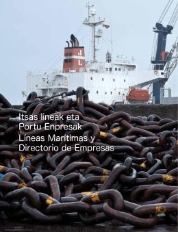 12Líneas marítimas y directorio de empresas