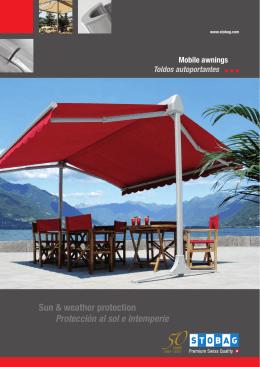 Sun & weather protection Protección al sol e intemperie