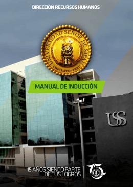 MANUAL DE INDUCCIÓN - Universidad Señor de Sipán