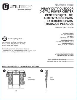 heavy-duty outdoor digital power center centro digital de