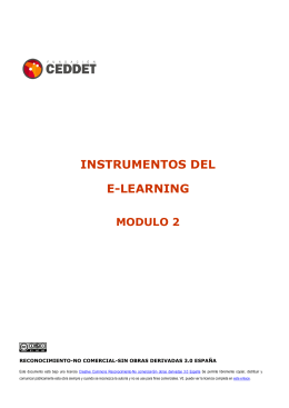 instrumentos del e-learning modulo 2