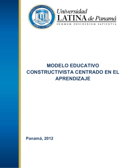 Modelo Educativo ULATINA 5.7.12