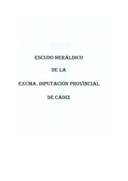 antecedentes del escudo de la excma