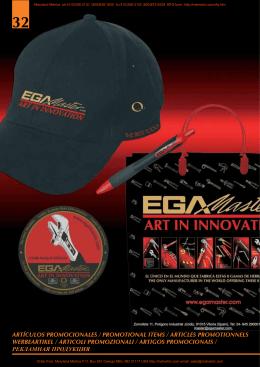 artículos promocionales / promotional items
