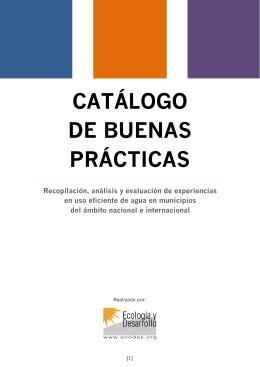 CATÁLOGO DE BUENAS PRÁCTICAS
