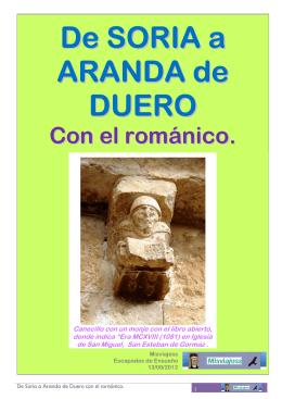 De SORIA a ARANDA de DUERO